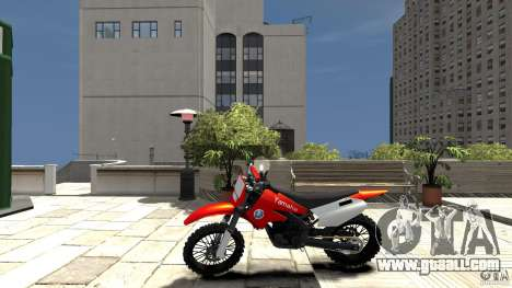 Yamaha Cross for GTA 4 left view