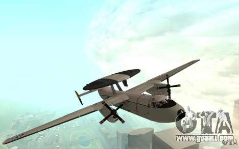 E-C2 Hawkeye for GTA San Andreas