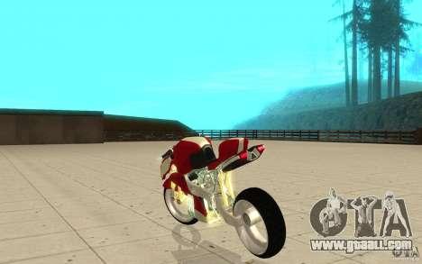 New NRG Standart version for GTA San Andreas back left view