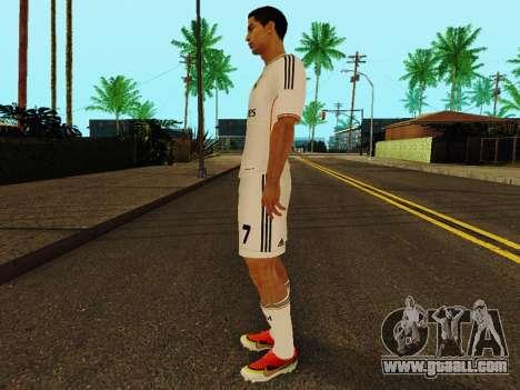 Cristiano Ronaldo v1 for GTA San Andreas third screenshot