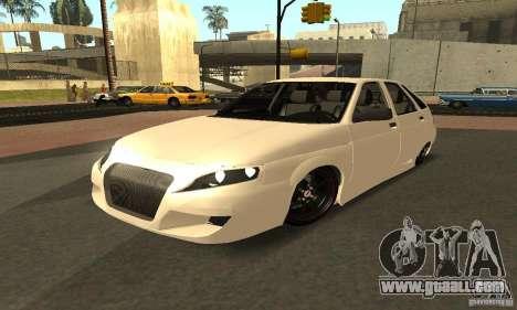 VAZ-2112 car Tuning for GTA San Andreas