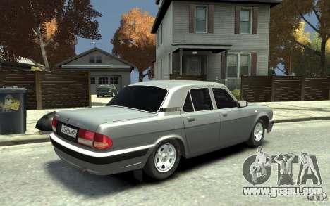 GAZ Volga 31105 for GTA 4 right view