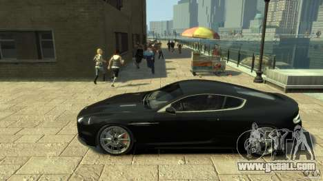 Aston Martin DBS Coupe v1.1f for GTA 4 left view