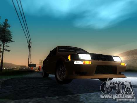 Toyota Corolla AE86 Levin for GTA San Andreas back view