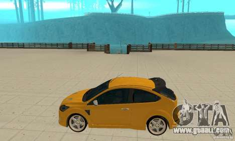 Ford Focus RS for GTA San Andreas left view