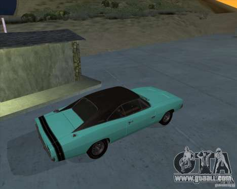 Dodge Charger RT HEMI 1968 for GTA San Andreas left view