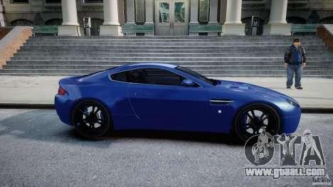Aston Martin V8 Vantage V1.0 for GTA 4 inner view