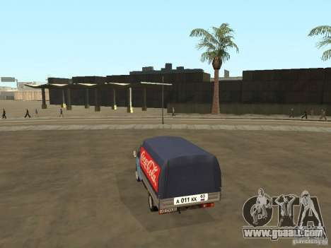 3302 Gazelle v.2.0 for GTA San Andreas left view