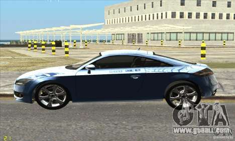 Audi TT 2006 for GTA San Andreas left view