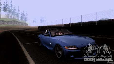 BMW Z4 V10 for GTA San Andreas side view