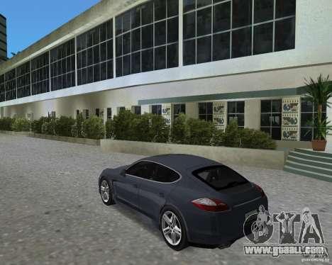 Porsche Panamera for GTA Vice City right view