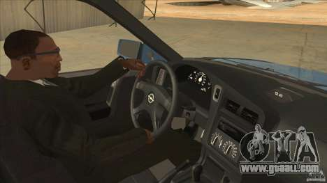 Opel Astra F Tuning for GTA San Andreas inner view
