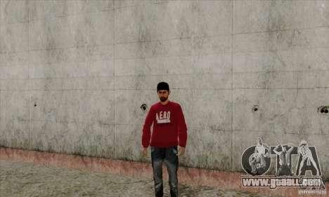 Skin substitute Bmyst for GTA San Andreas third screenshot