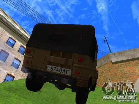 UAZ 460 for GTA San Andreas left view