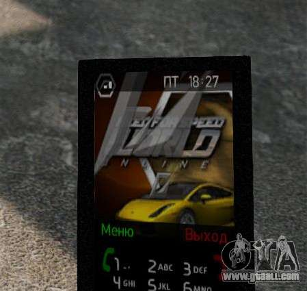 New themes for your phone for GTA 4 fifth screenshot