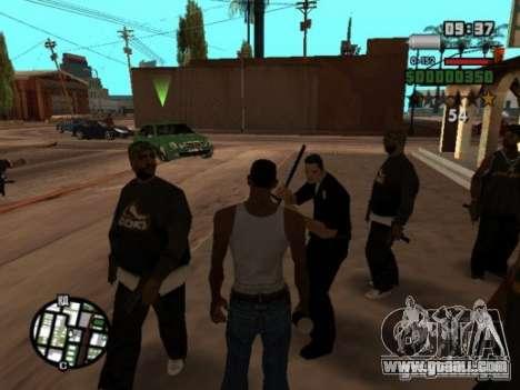 Call of Homies for GTA San Andreas forth screenshot