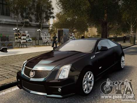 Cadillac CTS-V Coupe 2011 for GTA 4