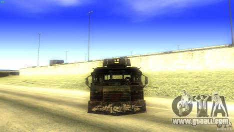Frontline - MilBus for GTA San Andreas right view