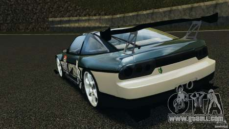Nissan 240SX Time Attack for GTA 4 back left view
