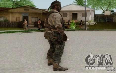 Frank Woods for GTA San Andreas third screenshot