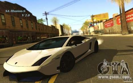 SA Illusion-S V2.0 for GTA San Andreas