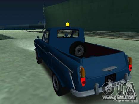 Moskvich 430 Pickup Aeroflot for GTA San Andreas left view