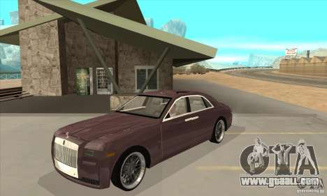 Rolls-Royce Ghost 2010 for GTA San Andreas