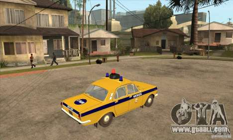 GAZ Volga 2401 Police for GTA San Andreas right view
