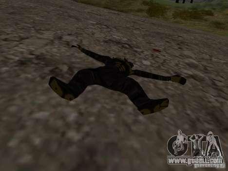 Snow man for GTA San Andreas forth screenshot