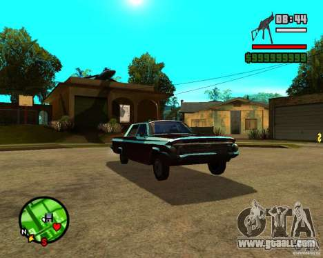 Mercury Mascarpone for GTA San Andreas