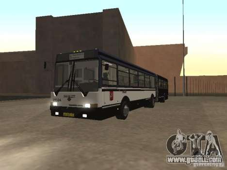 Buses 6222 for GTA San Andreas left view