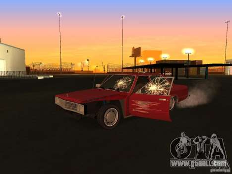 Ford Fairmont 4dr 1978 for GTA San Andreas back view