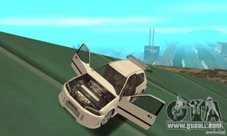 Honda Civic SiR II Tuning for GTA San Andreas back view