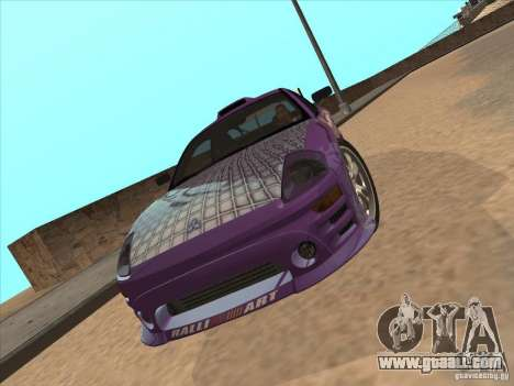 Mitsubishi Eclipse Spyder 2FAST2FURIOUS for GTA San Andreas right view