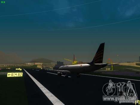 Embraer ERJ 190 Lufthansa Regional for GTA San Andreas right view