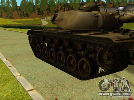 T-110E5 for GTA San Andreas left view