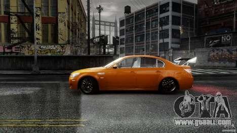 BMW M5 e60 Emre AKIN Edition for GTA 4 left view