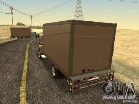 GMC 5500 2001 for GTA San Andreas back left view
