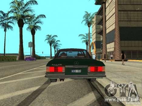 Mercedes - Benz 280SE for GTA San Andreas