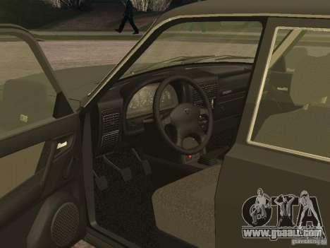 GAZ 3110 v 2 for GTA San Andreas right view