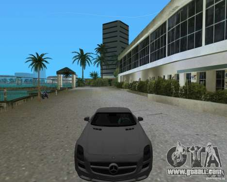 Mercedes Benz SLS AMG for GTA Vice City right view