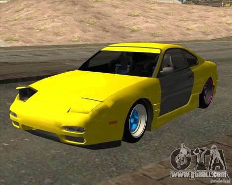 Nissan S330SX Japan SHK style for GTA San Andreas back left view