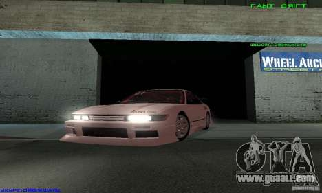 Nissan Silvia S13 Tunable for GTA San Andreas interior