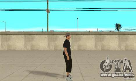 David Blane Skin for GTA San Andreas