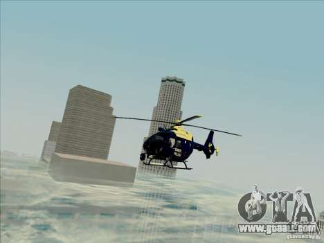 Eurocopter EC-135 Essex for GTA San Andreas right view