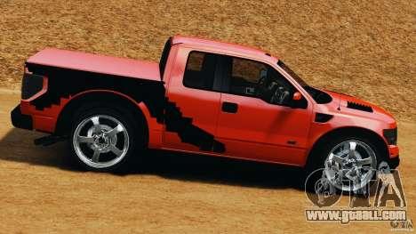 Ford F-150 SVT Raptor for GTA 4 left view