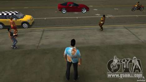 Royo Skin mit Brille for GTA Vice City second screenshot