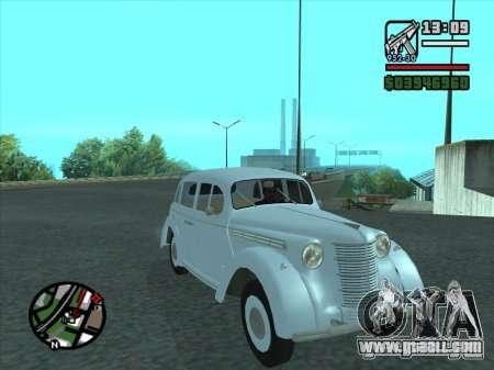 AZLK 400 for GTA San Andreas
