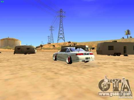 Nissan Silvia S14 JDM for GTA San Andreas left view