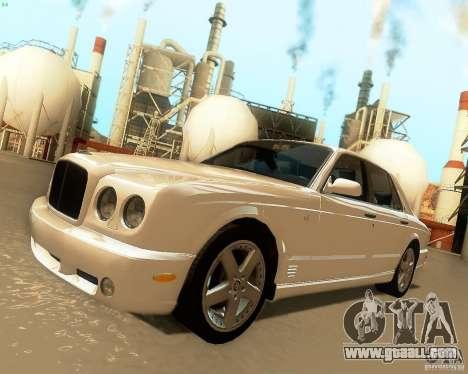 Bentley Arnage for GTA San Andreas